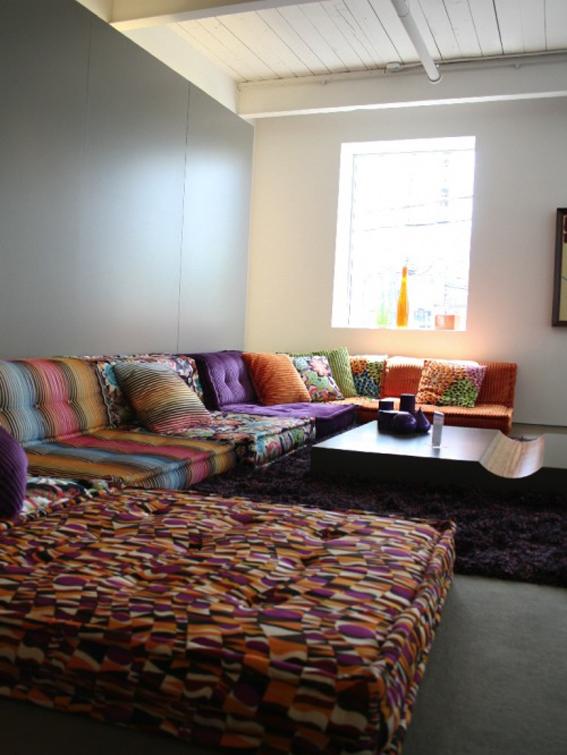 mah jong modular sofas designed by hans hofer roche bobois i love green inspiration i love. Black Bedroom Furniture Sets. Home Design Ideas